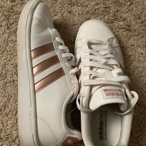 Rose gold Adidas Sneakers